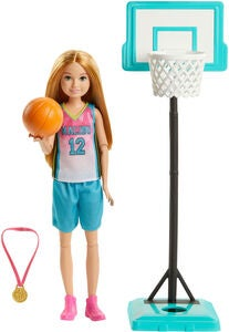 Barbie Dreamhouse Adventures Dukke Stacie Basketball