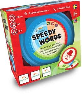 Speedy Words Familiespil