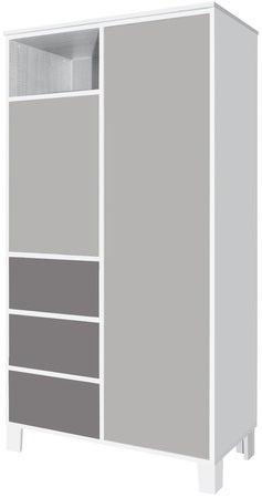 Køb Faktum Garderobeskab, Hvid | Jollyroom on