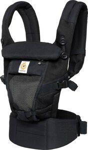 Ergobaby Adapt Bæresele Cool Air Mesh, Onyx Black