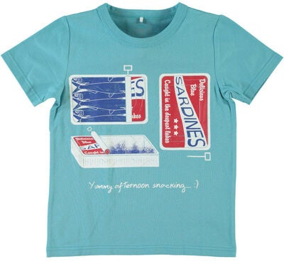 Name it Kids T-shirt Vux, Maui Blue