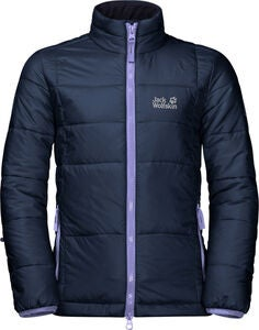 Jack Wolfskin Argon Jakke, Midnight Blue