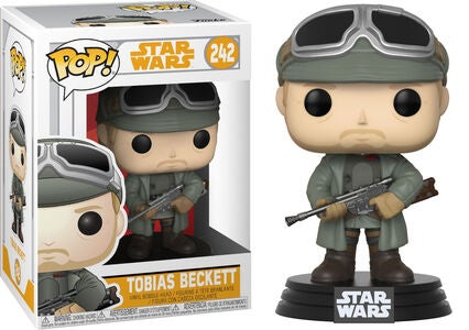 POP! Star Wars Samlefigur Tobias Beckett m. Briller