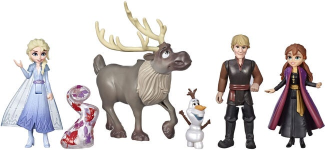 Disney Frozen 2 Adventure Collection Figurer 5-pak