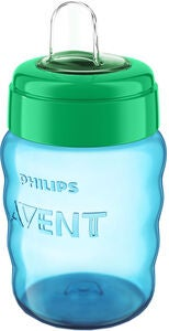 Philips Avent Tudekop 260ml, Blå/Grøn
