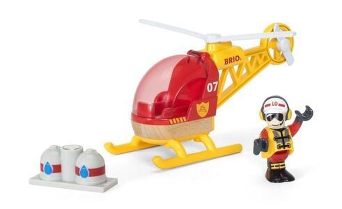 BRIO World 33797 Redningshelikopter