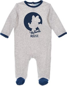 Disney Minnie Mouse Pyjamas, Light Grey
