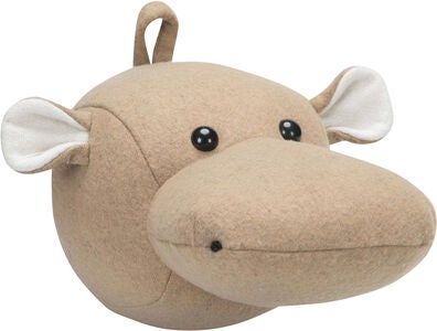 KidsDepot Flodhestehoved Hippo, Natural