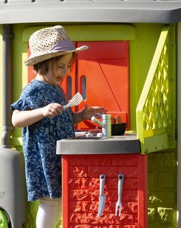salg fangst autentisk Køb Smoby Neo Jura Lodge Tilbehør Udekøkken | Jollyroom