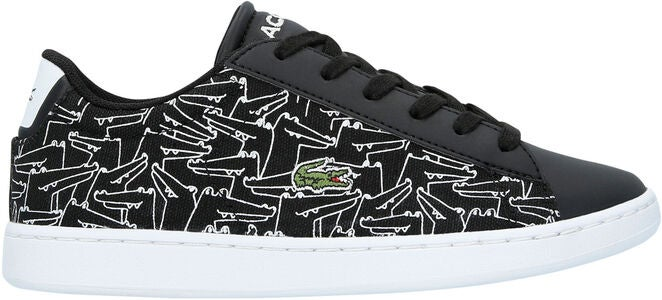 Lacoste Carnaby Evo 318 Sneakers, Black/White