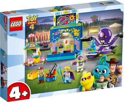 LEGO Toy Story 4 10770 Buzz & Woodys Vilde Tivolitur