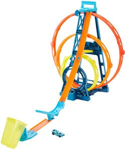 Hot Wheels Track Builder Unlimited Triple Loop Racerbane