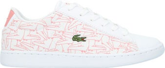 Lacoste Carnaby Evo 318 Sneakers, White/Pink