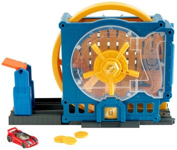 Hot Wheels City Legesæt Super Bank Blast-Out