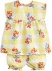 Tom Joule Top & Shorts, Yellow Gingham Floral