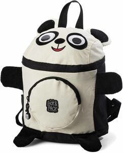 Pick & Pack Rygsæk Panda, Black