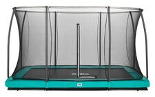 Salta Trampolin Comfort Edition Ground 244x366 Cm, Grøn