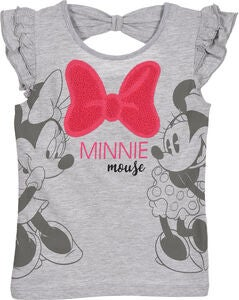 Disney Minnie Mouse T-Shirt, Light Grey