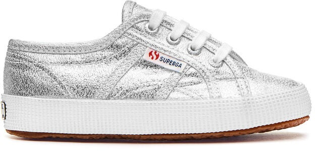 Superga 2750 Lamebumpj Sneakers, Grey Silver