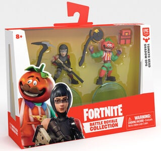 Fortnite Battle Royale W2 Figurer Tomatohead & Shadow Ops Duo Pack S1
