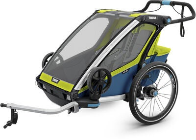 Thule Chariot Sport 2 Cykelanhænger, Chartreuse | bike_trailers_component