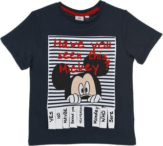 Disney Mickey Mouse T-Shirt, Blå