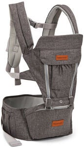 Beemoo Carry Comfort Adjust Bæresele, Grey