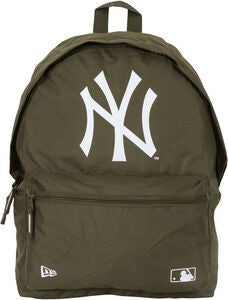 New Era MLB NYY Rygsæk 16L, New Olive/White