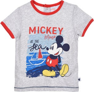 Disney Mickey Mouse T-Shirt, Light Grey