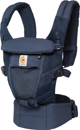 Ergobaby Adapt Bæresele Cool Air Mesh, Deep Blue