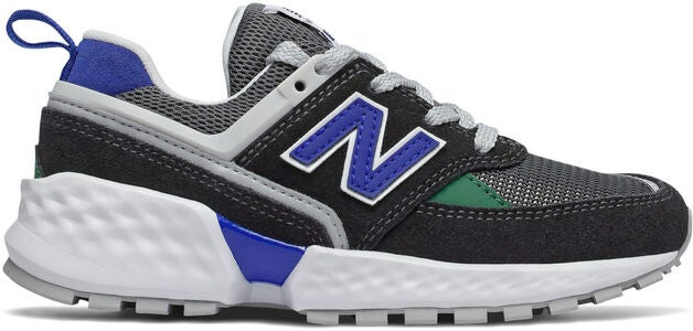 New Balance 547 Kids Sport Sneakers, Black/Blue