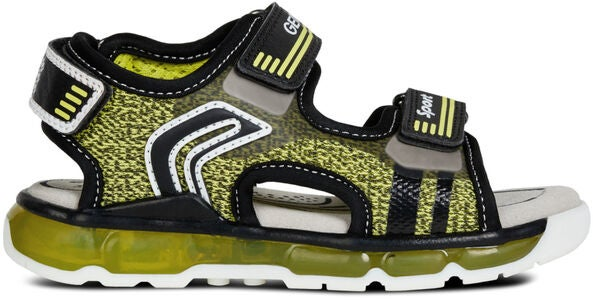 Geox Android Sandaler, Lime/Black