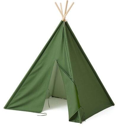 Køb Kids Concept Tipi Telt Mini, Grøn | Jollyroom