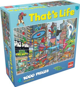 Goliath Games Puslespil That's Life – New York 1000 Brikker