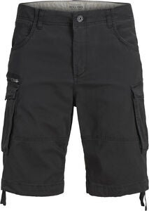 Jack & Jones Chop Cargo Shorts, Black