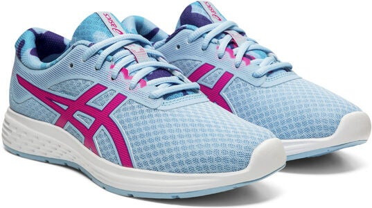 Asics Patriot 11 GS SP Sneakers, Heritage Blue/Pink Glo