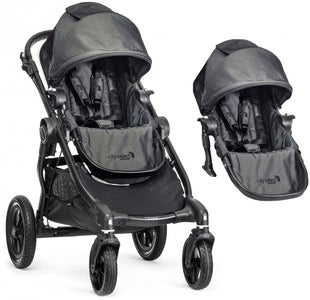Baby Jogger City Select Søskendevogn, Charcoal
