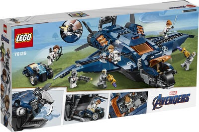 LEGO Super Heroes 76126 Avengers' Ultimative Quinjet