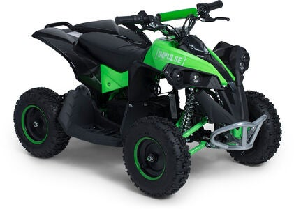 Impulse Elektrisk ATV 1000W, Sort/Grøn