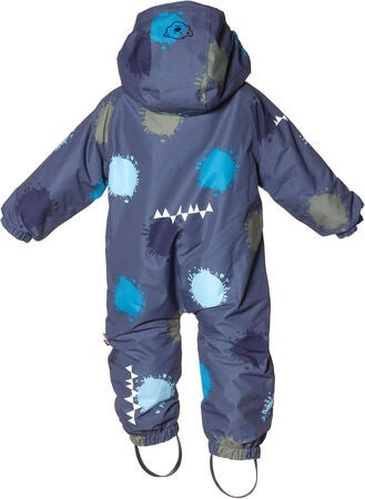 Isbjörn Toddler Flyverdragt, Denim Globe