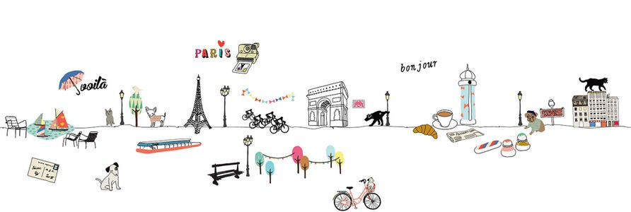 Mimilou Wallsticker Paris