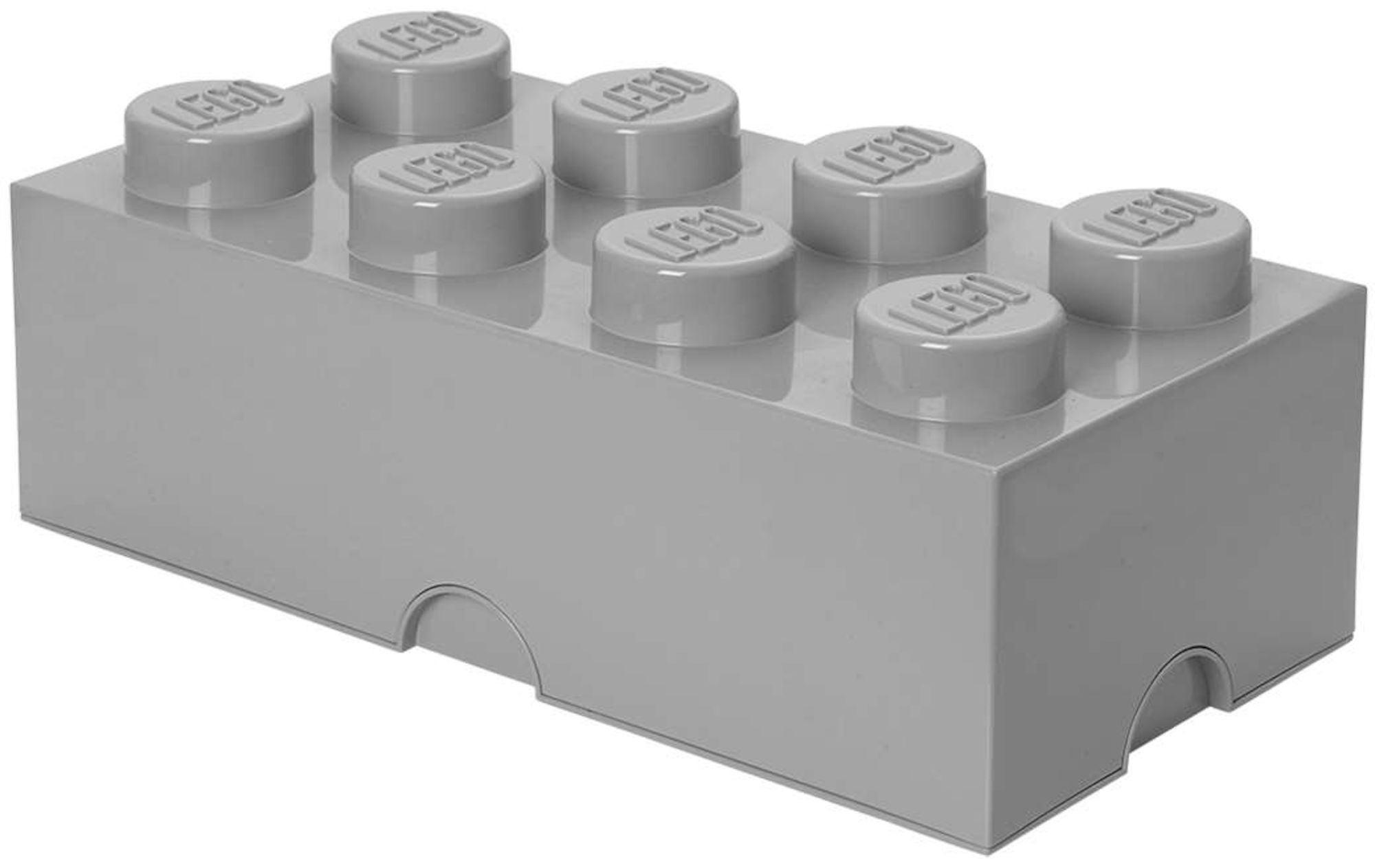 Picture of: Kob Lego Opbevaringskasse 8 Design Collection Grey Jollyroom