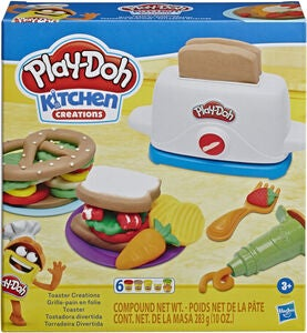 Play-Doh Modellervoks Toaster Creations