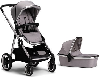 Beemoo Twin Travel+ 2019 Duovogn, Light Grey