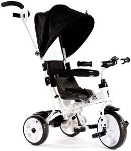 Pinepeak Tricycle Plus, Sort/Hvid