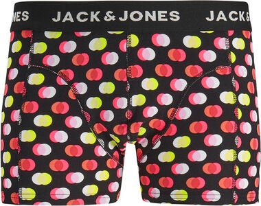 Jack & Jones Dots Underbukser 3-pak, Black