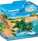 Playmobil 70358 Alligator Med Unger