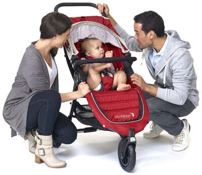 Baby Jogger City Mini GT, Crimson/Grey