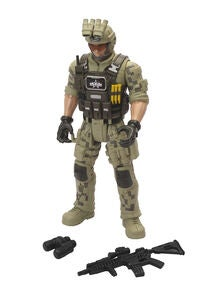 Soldier Force Operation Sandstorm Soldat Figur