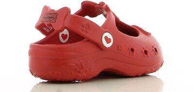 Disney Minnie Mouse Crocs, Red